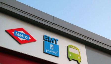 Logos de transportes de Madrid