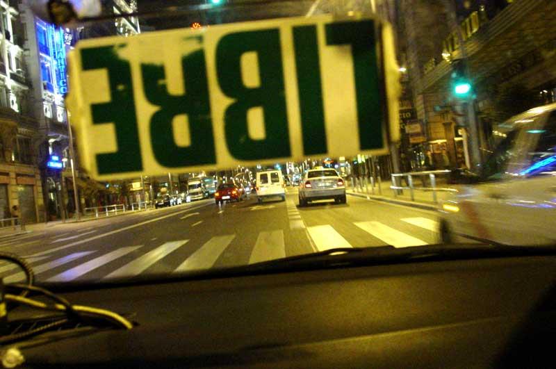 Taxi Ride, Madrid - Jon Nicholls